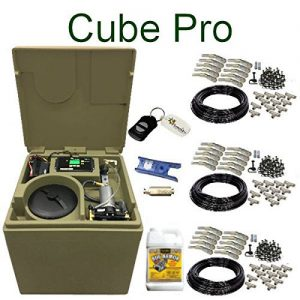 Cube PRO Pynamite Mosquito Misting System, small 26 inch cube still 55 gallons with 30 Nozzle Kit and FREE Misting Concentrate